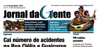 Jornal da Gente – Ed. 688 – 07 a 13 de novembro de 2015